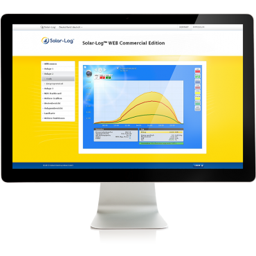 Solar-Log™ WEB Professional monitoring for plant owners